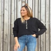 El jersey que está arrasando en tienda disponible en negro 🖤  📦 www.catalove.es 📦  #nuevacolección #jersey #punto #black #look #lookotoño #inspiration